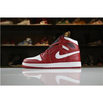 Air Jordan 1 Mid Chicago Gym Red/White 554724-605 Men's and Women's Size