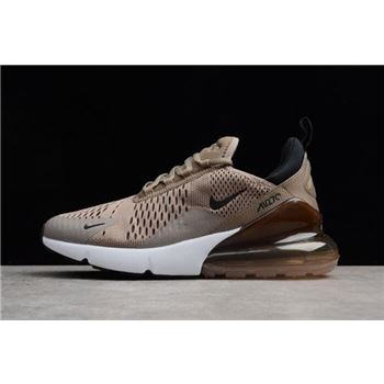 Men's Nike Air Max 270 Tan Sepia Stone-Black-Summit White AH8050-200
