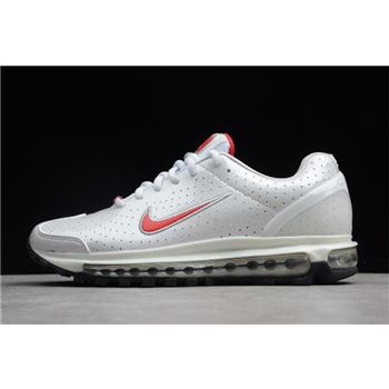 Women's Nike Air Max 2003 SS Milky White/Red 306582-800