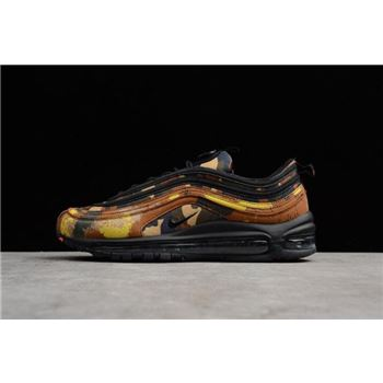 Men's Nike Air Max 97 Premium QS Country Camo Italy AJ2614-202
