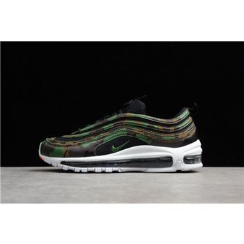Men's Nike Air Max 97 Premium QS Country Camo UK AJ2614-201