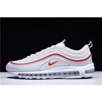 Nike Air Max 97 OG Pure Platinum/White/University Red AR5531-002
