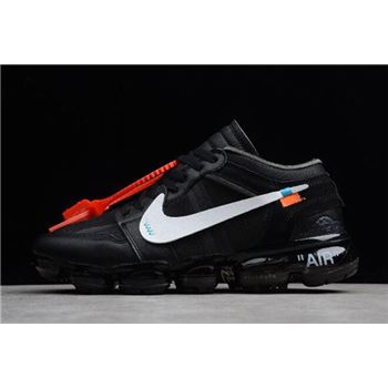 Off-White x Nike Air VaporMax x Air Jordan 1 Black For Sale