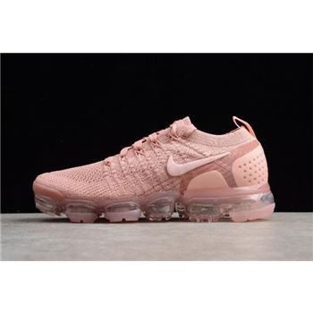 WMNS Nike Air VaporMax Flyknit 2.0 Pust Pink/Storm Pink-Pink Tint 942843-600