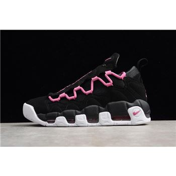 Nike Air More Money QS Black/Fuschia-White Men's and Women's Size Shoes AJ7383-001
