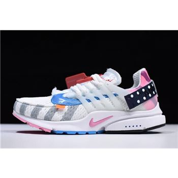 2018 Off-White x Nike Air Presto 2.0 Parra White/Multi-Color AA3830-140