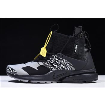 Acronym x Nike Air Presto Mid Cool Grey AH7832-001
