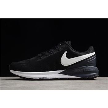 Nike Air Zoom Structure 22 Black/White-Gridiron AA1636-002