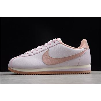Women's Nike Classic Cortez Leather Lux Pearl Pink 861660-600