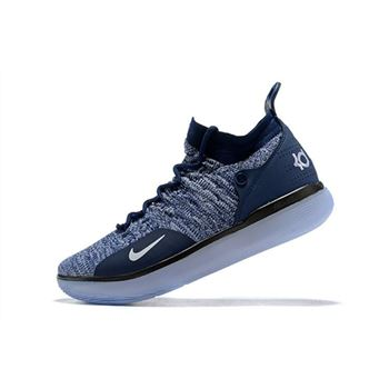 Nike KD 11 Navy Blue/White Men's Basketball Shoes For Sale