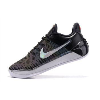 df45e2080fdf Nike Kobe A.D. Chameleon Black Metallic Silver-White Free Shipping