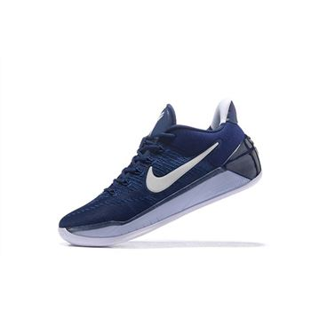 Nike Kobe A.D. Midnight Navy/Pure Platinum-White Basketball Shoes 852425-406