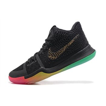 competitive price 53a2b 8a52a Men s Nike Kyrie 3 Rise and Shine Basketball Shoes