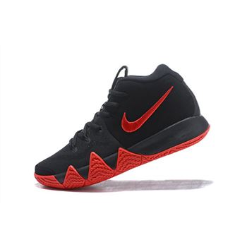 Nike Kyrie 4 Black Red Men's Size Basketball Shoes