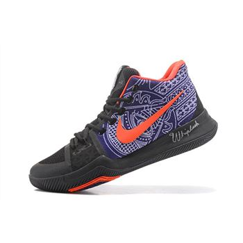 Newest Nike Kyrie 3 Kyrie Irving's Hamsa Hand Tattoo Men's Basketball Shoes