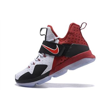 Nike LeBron 14 White Black Red Men's Basketball Shoes