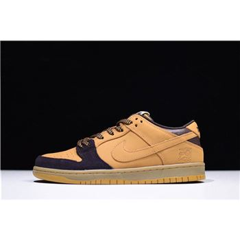Nike SB Dunk Low Lewis Marnell Cappuccino/Wheat-Bronze Free Shipping