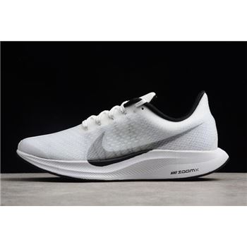 Nike Zoom Pegasus 35 Turbo White/Black AJ4114-100 Free Shipping