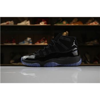2018 All-Black Air Jordan 11 XI Cap And Gown 378037-005