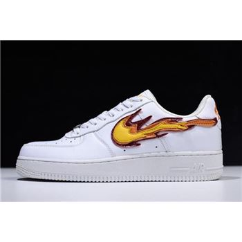 NAF x Nike Air Force 1 Low Hot Flame Fire Custom 315122-911