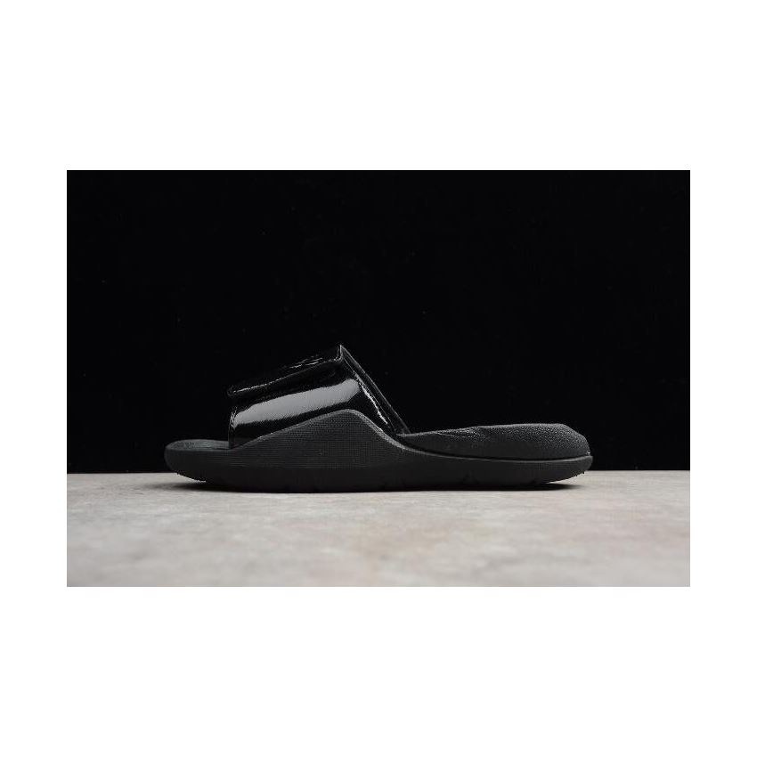 MEN/'S JORDAN HYDRO 7 SLIDE BLACK//BLACK AA2517-010 NEW 2018